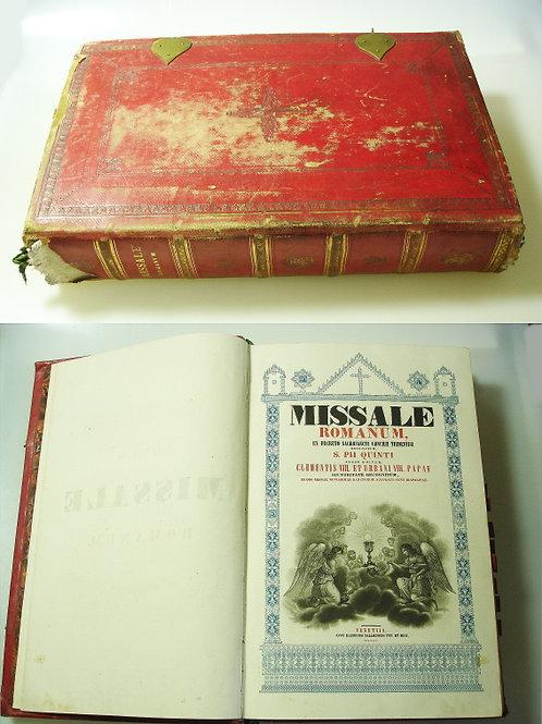Missale Romanum, ex decreto sacrosancti - Concilii Tridentini