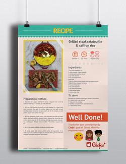 Flyer Design for Chefo