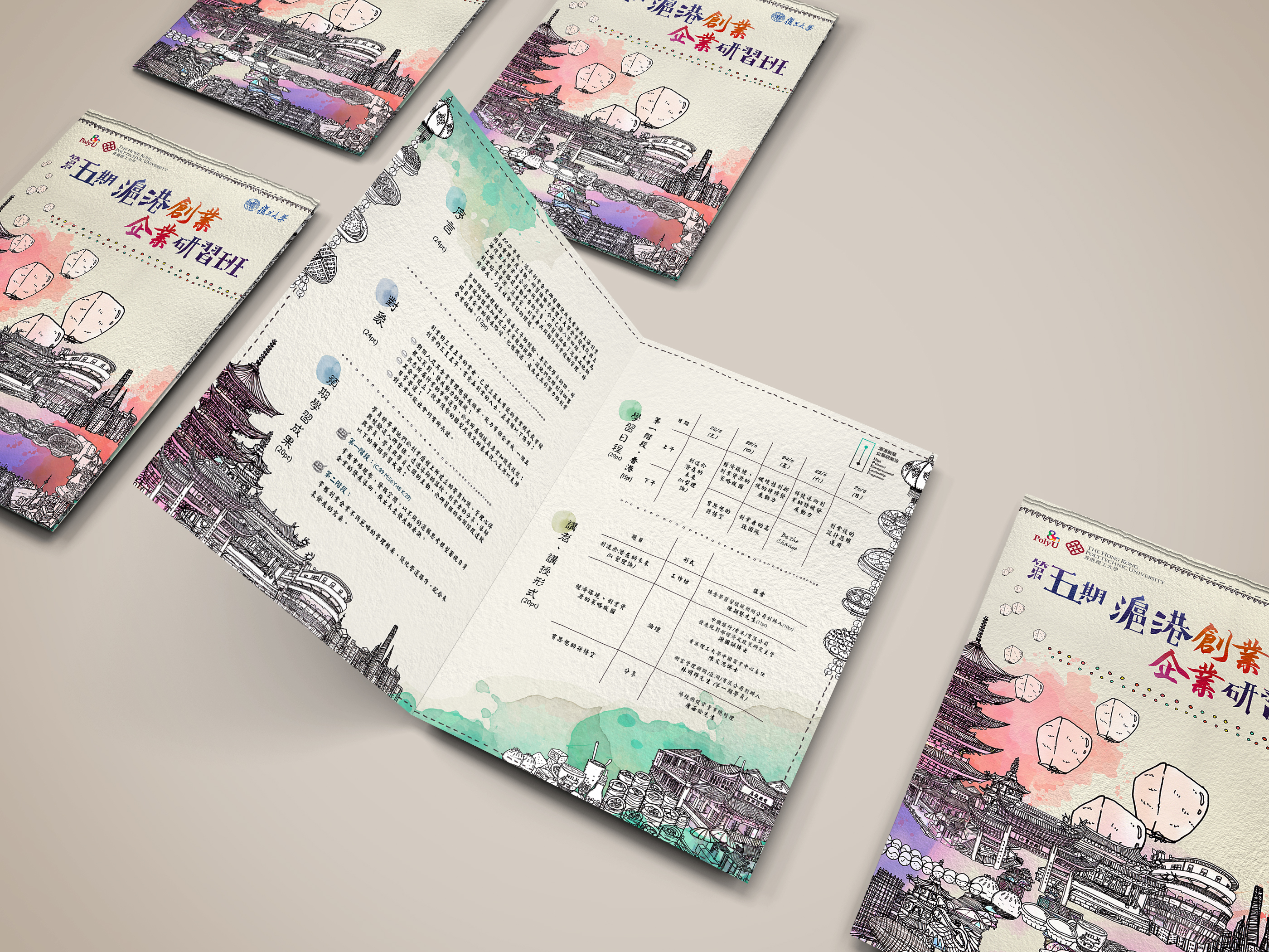 Flyer Design for PolyU HiPEL