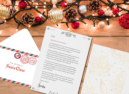 [FREE DOWNLOAD] A Letter From Santa Claus + Stamped Envelope