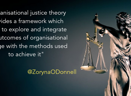 Organisational justice: The often overlooked factor in change management