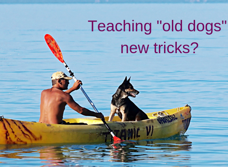 """Teaching """"old dogs"""" new tricks?"""