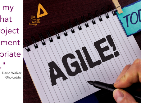 Thriving post-pandemic : Is it time for Agile Projects to come to the fore?