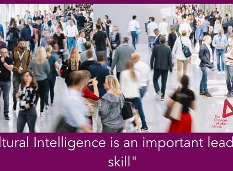 Cultural Intelligence - An Important Leadership Skill