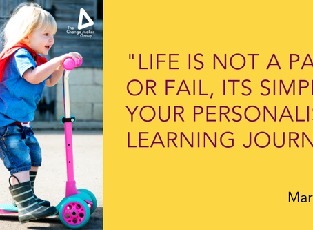 Lifeis not a Pass or Fail Test!