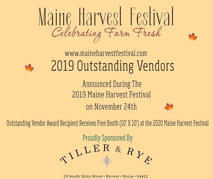 2019 MHF Vendor recogntion winners place