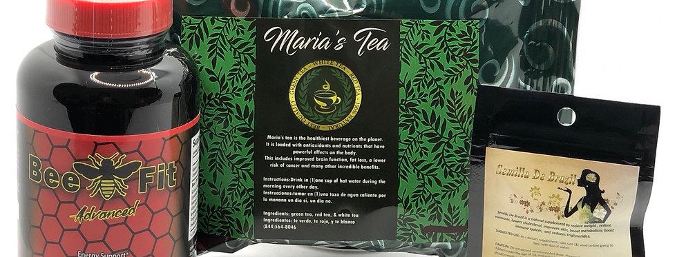 Semilla, BeeFit Advanced & Maria's Tea