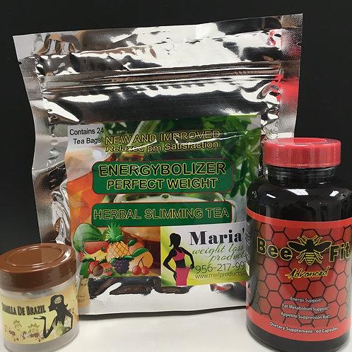 Semilla de brazil Beefit & Energybolizer Tea