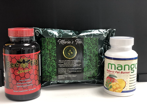Bee Fit Advanced, Mango with Nopal Extract & Maria's Tea