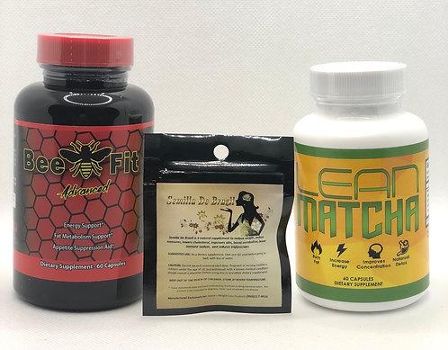 Semilla De Brazil, Bee Fit Advanced & Lean Matcha