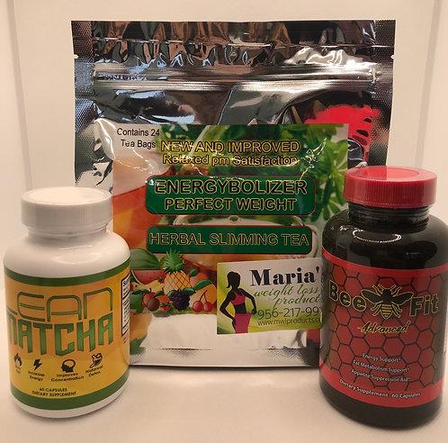 Lean Matcha, Bee Fit & Energybolizer Tea