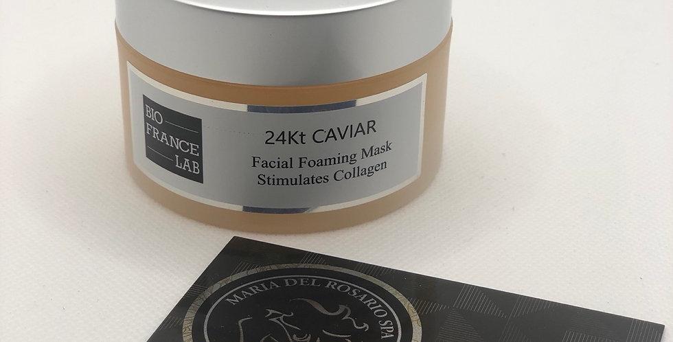 24Kt Caviar Facial Foaming Mask