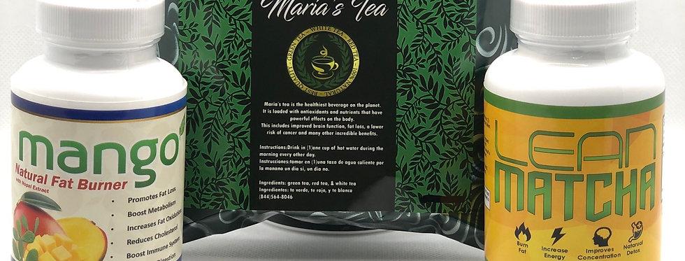 Mango, Lean Matcha & Maria's Tea