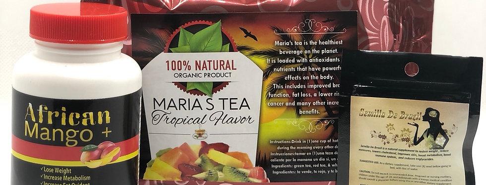 Semilla,African Mango + & Maria's Tea Tropical