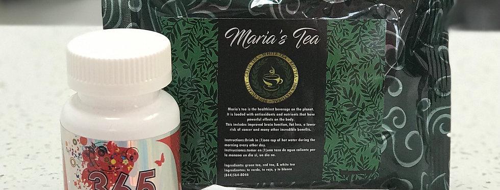 365 Skinny  & Maria's Tea