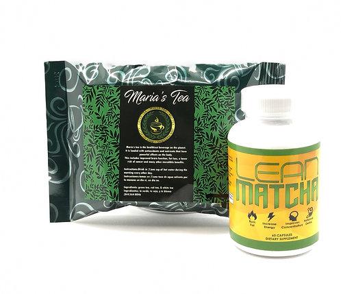 Lean Matcha & Maria's Tea