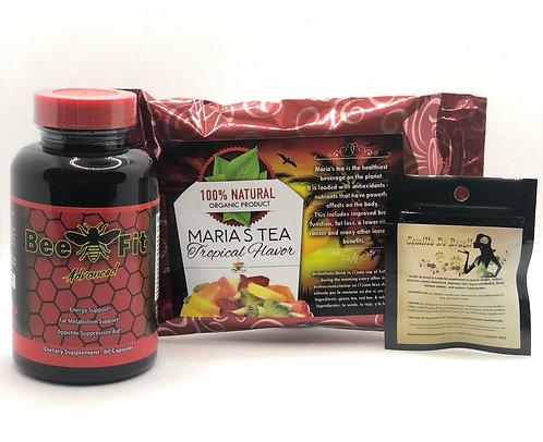 Semilla, Beefit Advanced & Marias Tea Tropical