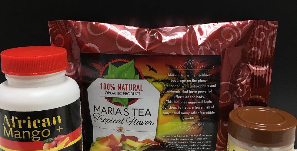 Semilla, African Mango + & Maria's Tea Tropical