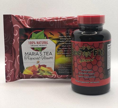 Bee Fit Advanced & Maria's Tea