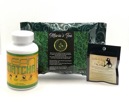 Semilla De Brazil, Lean Matcha & Maria's Tea
