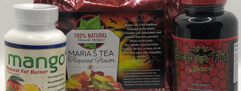 Mango Beefit Advanced & Maria's Tea