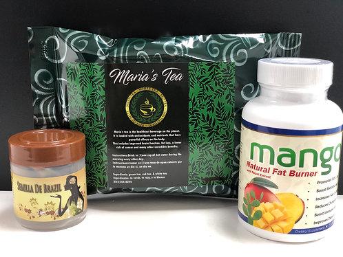 Mango, Semilla De Brazil & Maria's Tea