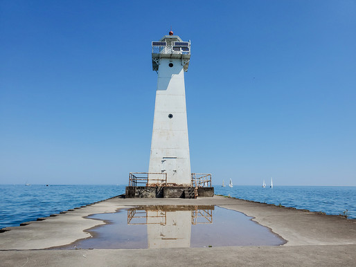 Flashback's Summer Adventures 2020 Take One (or is it really two) - CNY Lighthouses and Bluffs