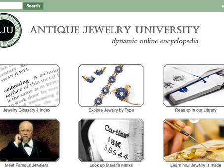Top 10 Antique Jewelry Resources