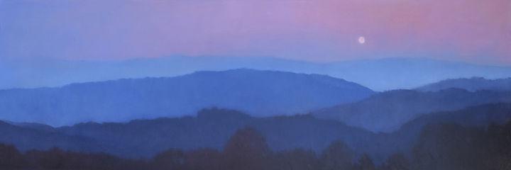 linda puiatti - mountaintops-moon-rising