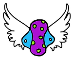 colorful reusable cloth pad with wings