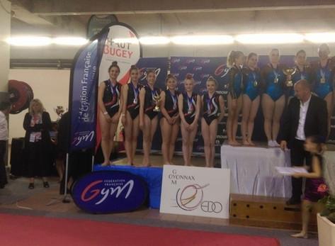 Vice Championne de France!