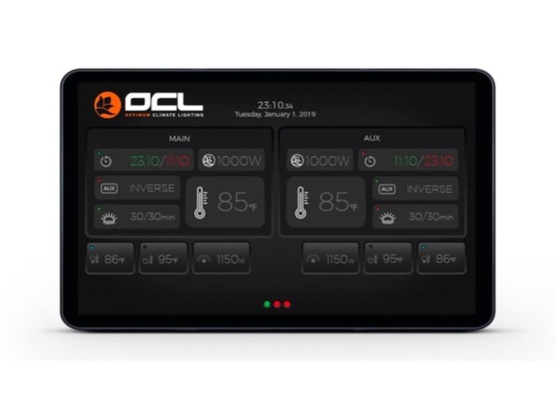 Digital Lighting Touchscreen Control