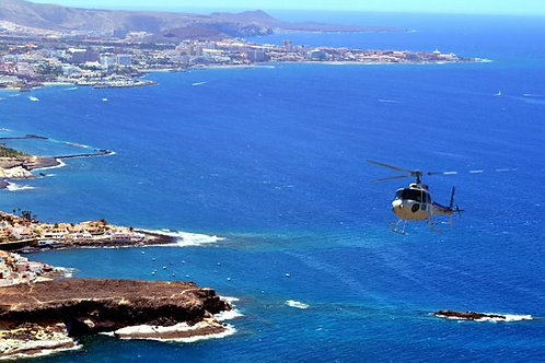 helicopter tour tenerife