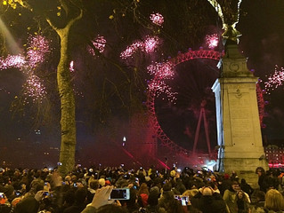 London New Years eve 2014