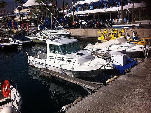 boat fishing trip tenerife