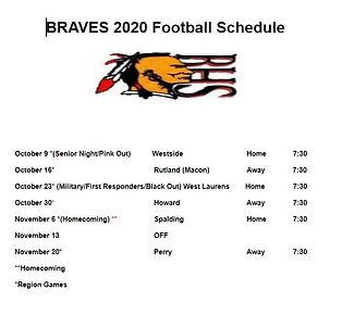 2020 football schedule.JPG
