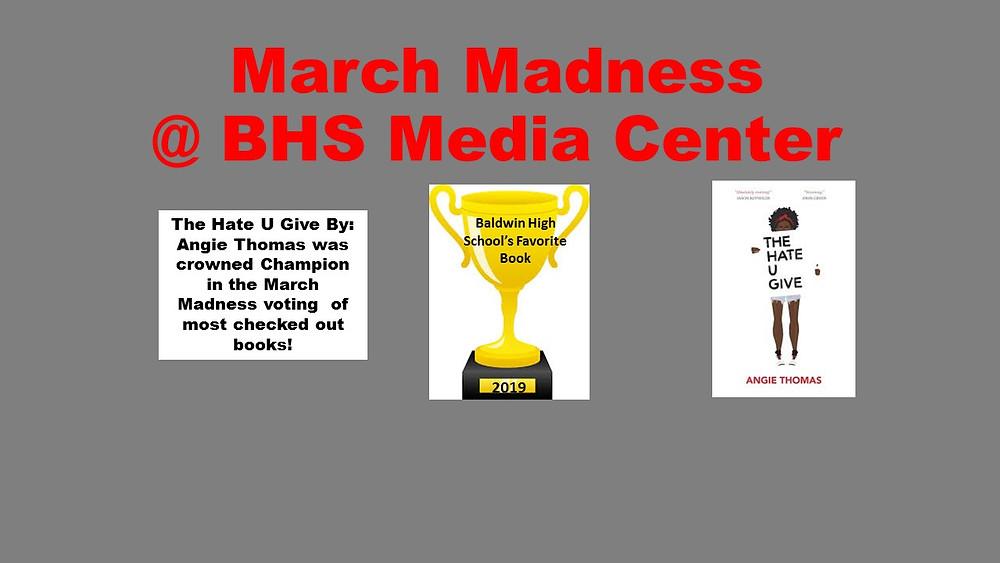 March Madness Winner for Baldwin High School