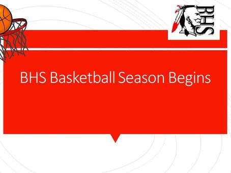BHS Basketball Season Begins