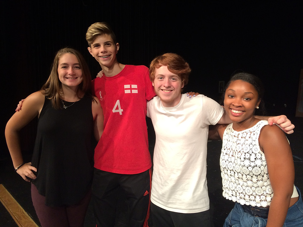 BHS Students Selected for GA Thespians Opening Number