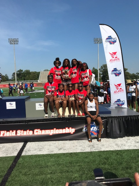 BHS Track at State Competition