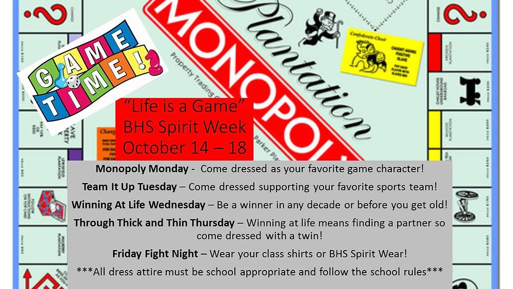 BHS Spirit Week