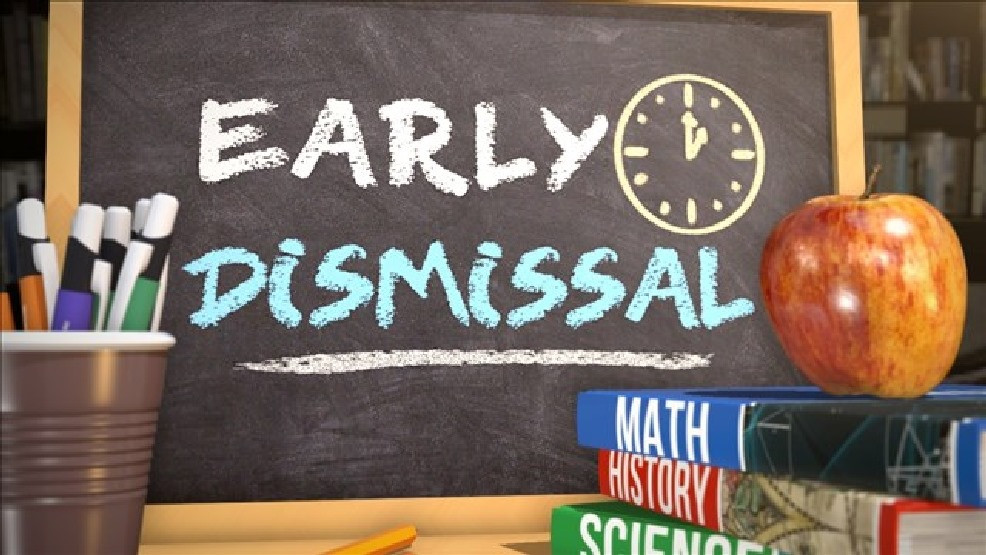 early dismissal Dec. 18th