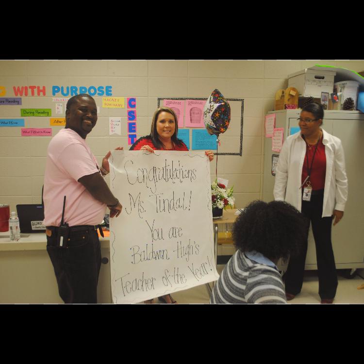 Baldwin High School Teacher of the Year