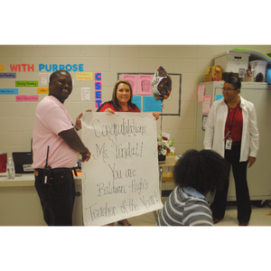Baldwin High School Teacher of the Year