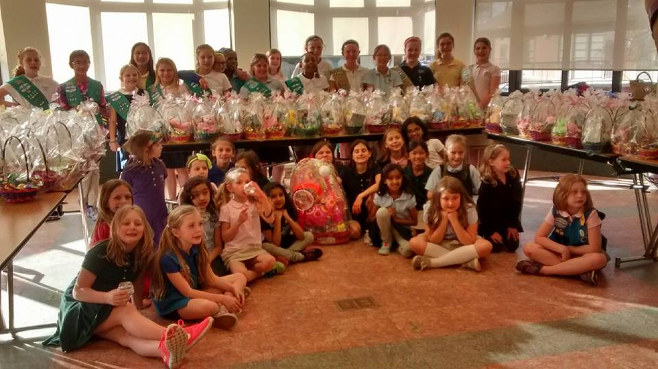 Harford Day Girl Scouts