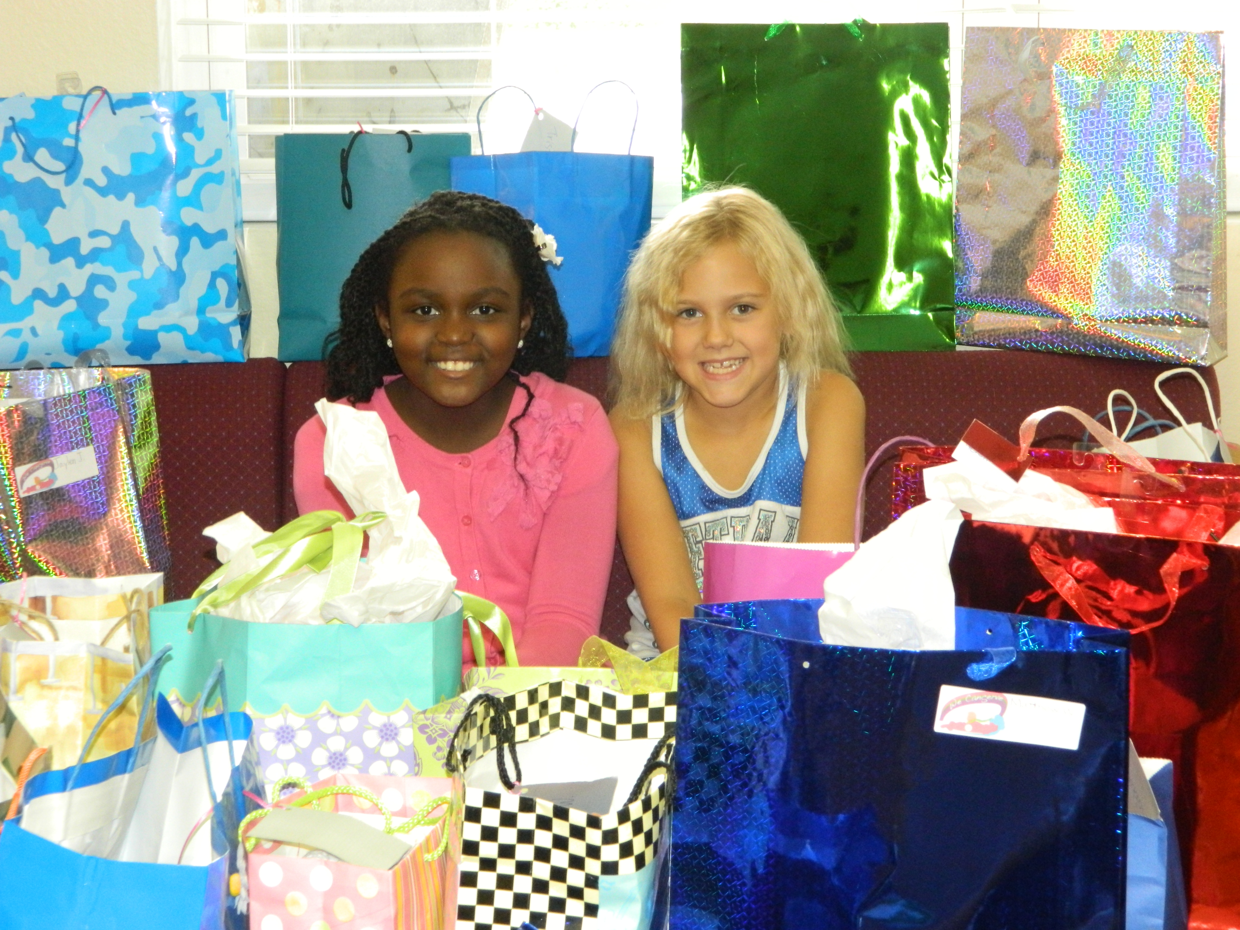 Grace Callwood and Alexis Bell 2013