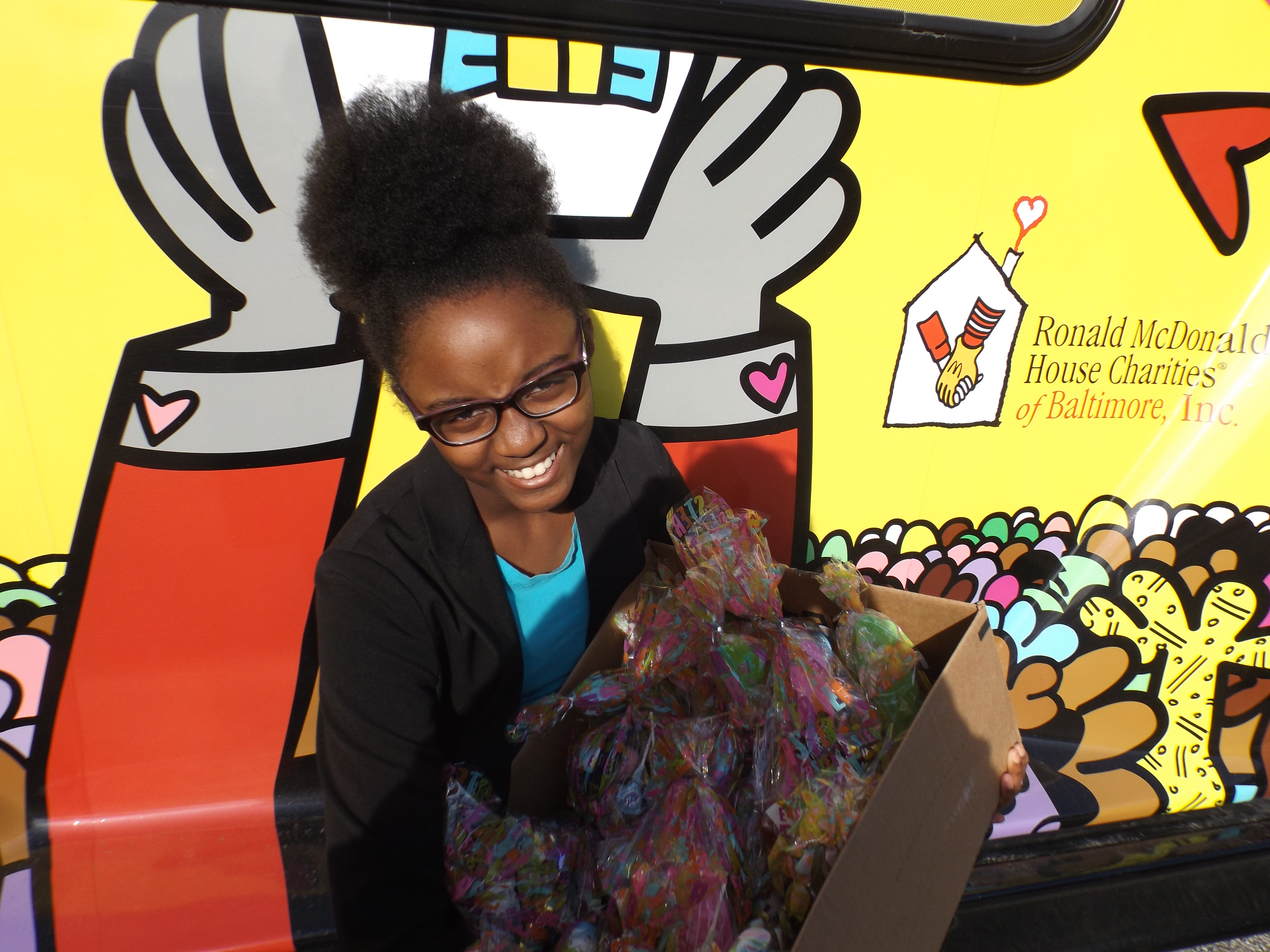 Ronald McDonald House Delivery