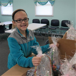Delivery to Teen Girls in Foster Car
