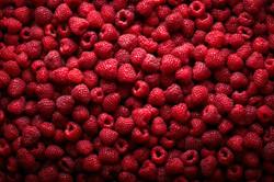 raspberries healthy snack