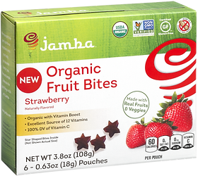 Strawberry healthy snack